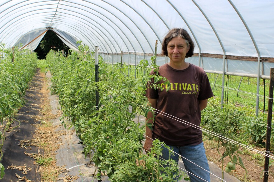 Katherine Kelly runs Cultivate Kansas City, a non-profit that promotes local farmers.