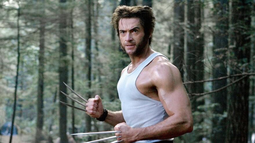 Hugh Jackman and mutton chops in <em>X-Men: The Last Stand</em>
