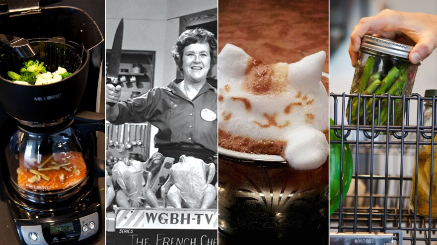 Latte art, debunking Julia Child and dishwasher cooking: 2013 had something for everybody.