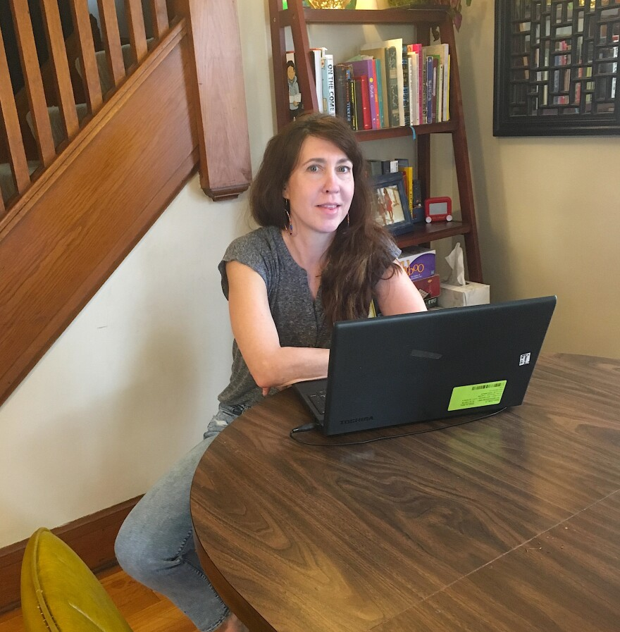 Teacher Elaine Zamonski sought coronavirus testing when her respiratory symptoms showed no improvement after a round of antibiotics. The test site was organized and efficient, she told WYSO.