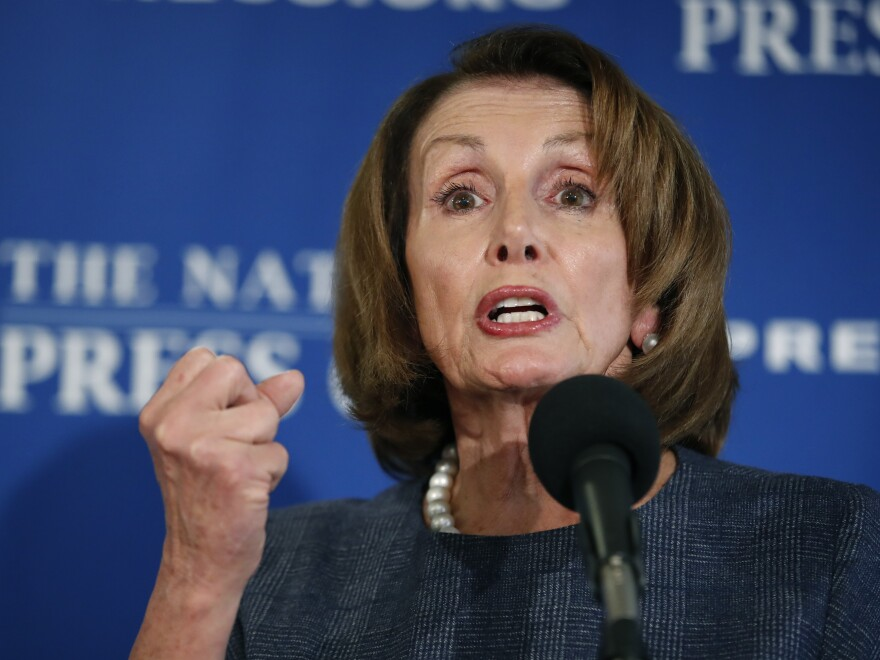 Rep. Nancy Pelosi, D-Calif., leader of the House Democrats, says she wants a vote every week on forcing disclosure of the president's tax returns.