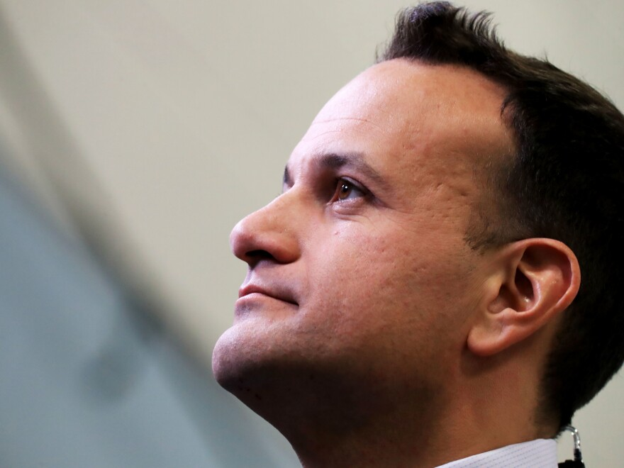 Acting Prime Minister Leo Varadkar worked as a doctor for seven years before going into politics.