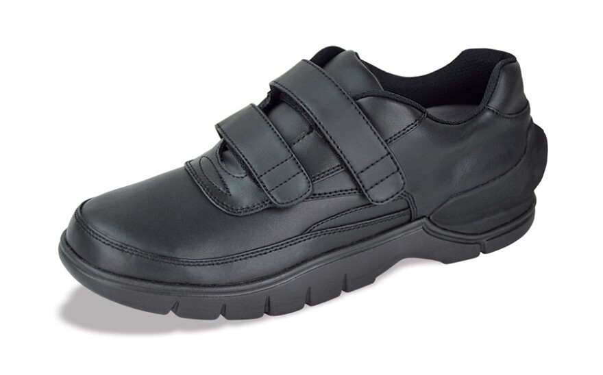 <p>There's a GPS tracker hidden inside this mild-mannered shoe.</p>