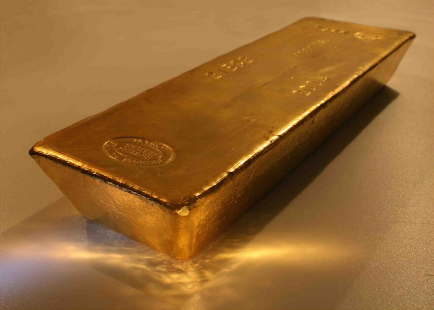A billion dollars in gold is coming to the Lone Star state.