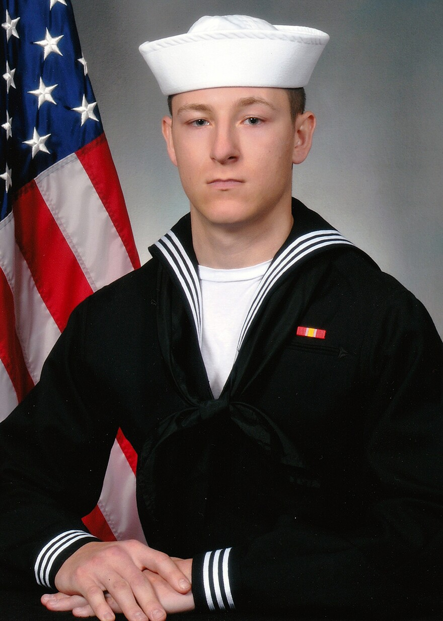 The Navy says it has identified the body of Electronics Technician 3rd Class Kenneth Aaron Smith, 22, from New Jersey. The Navy on Thursday named all 10 sailors who went missing when the USS John S. McCain collided with an oil tanker near Singapore on Monday.