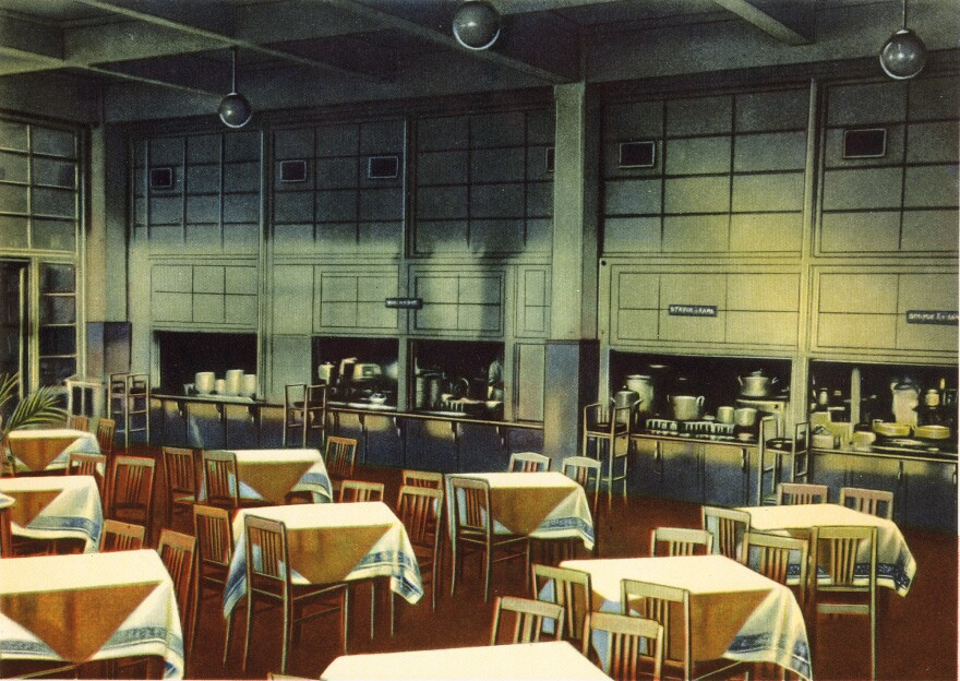 Public canteens in the Soviet era all served the same recipes, prepared according to the federal standards.