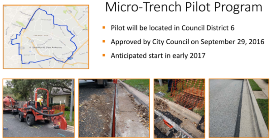 Slide from a city November 2016 City presentation