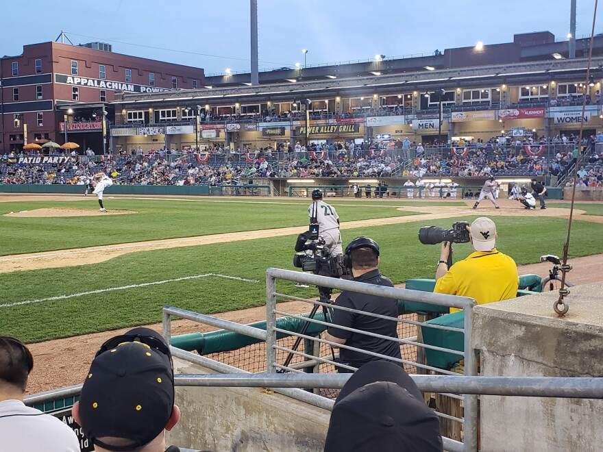 West Virginia Power Baseball in Charleston, W.Va.