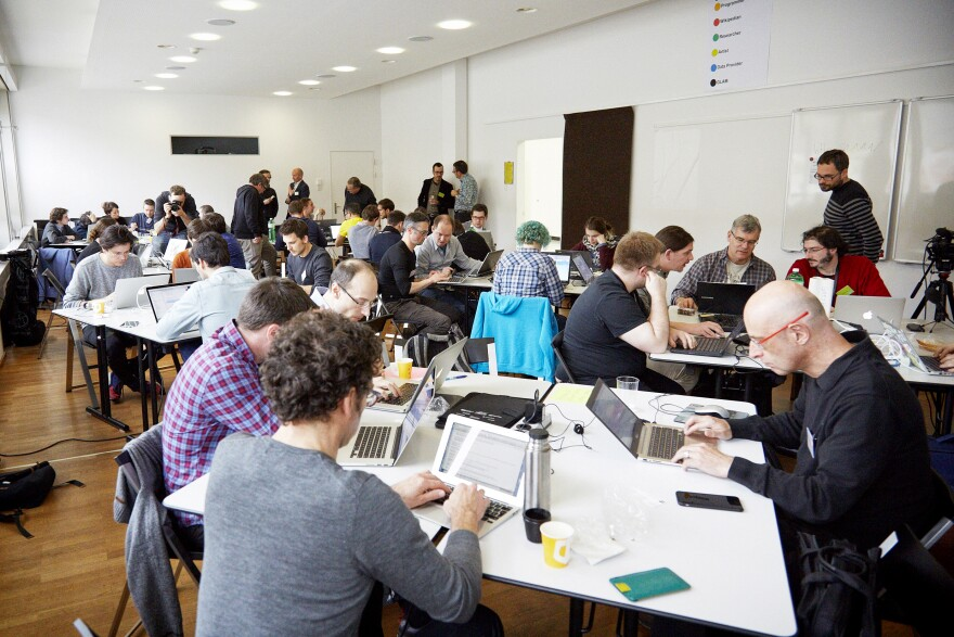 Swiss Open Cultural Data Hackathon 2015 at the Swiss National Library