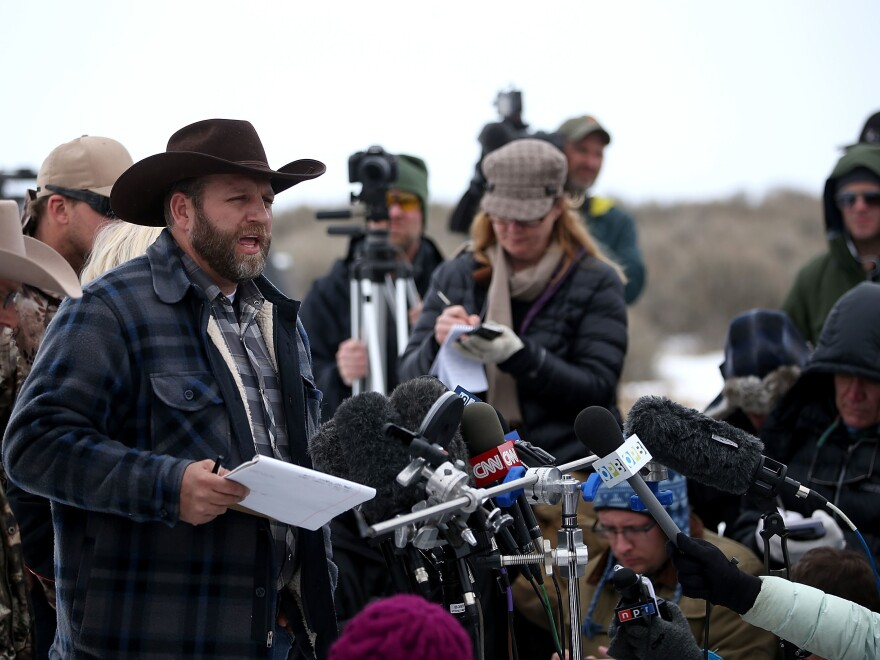 Ammon Bundy led an armed anti-government militia that occupied the Malheur National Wildlife Refuge headquarters for weeks last January. Now, Bundy and six others await the verdict in the federal trial resulting from the occupation.