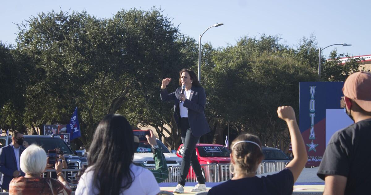 Kamala Harris Campaigns In Rio Grande Valley