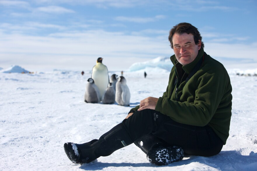 Alastair Fothergill is the producer of <em>Our Planet.</em>