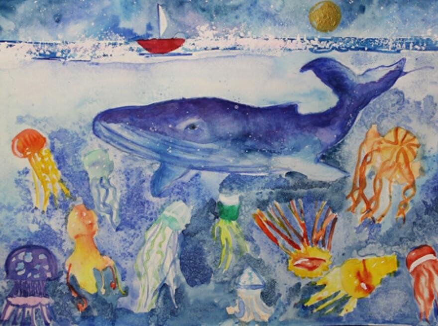 EDUCATION DIRECTOR'S PICK – Nika Nochovka – Aquarium – 2nd grade