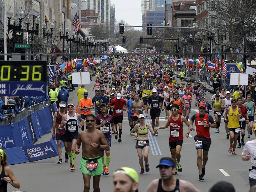 """Adidas apologized for its """"insensitive"""" choice of words in a marketing email to customers sent a day after the 121st Boston Marathon."""