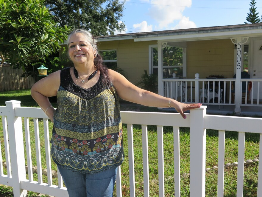 Diana Font of East Orlando is a lifelong Republican but says she can't stand Donald Trump and will be casting her ballot for Hillary Clinton in November.