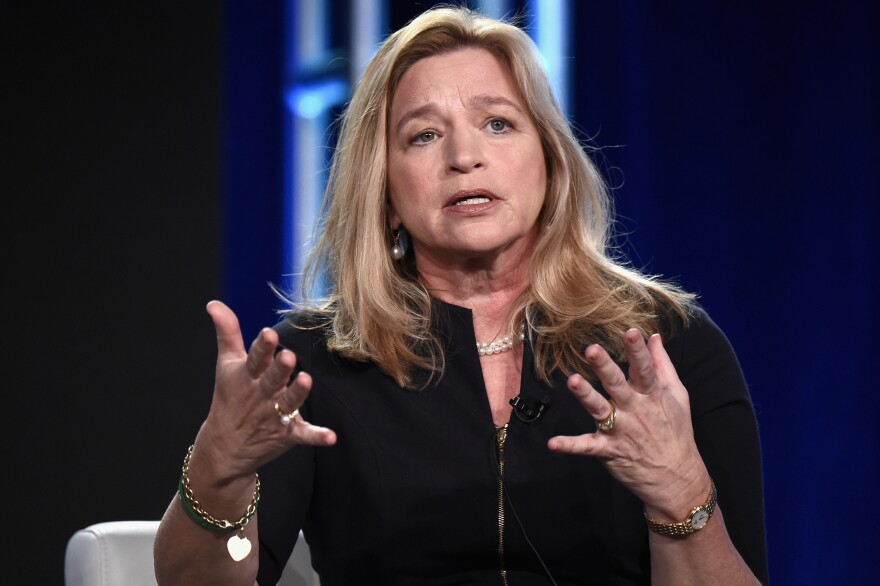 Ellen Stofan saw her first rocket launch when she was 4 years old. Now, more than 50 years later, she's director of the National Air and Space Museum — the first woman to hold the position.