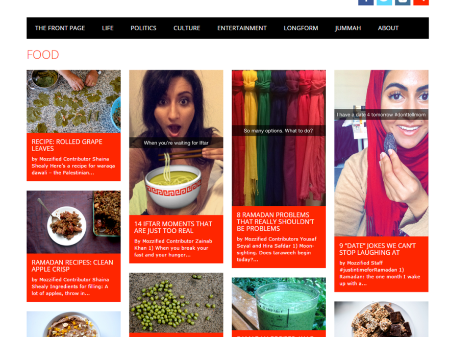 """Food"" on Mozzified.com"