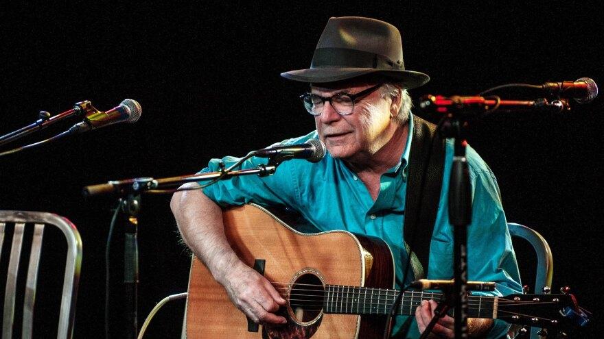 David Olney, performing in Denver, Co. on Apr. 23, 2015.