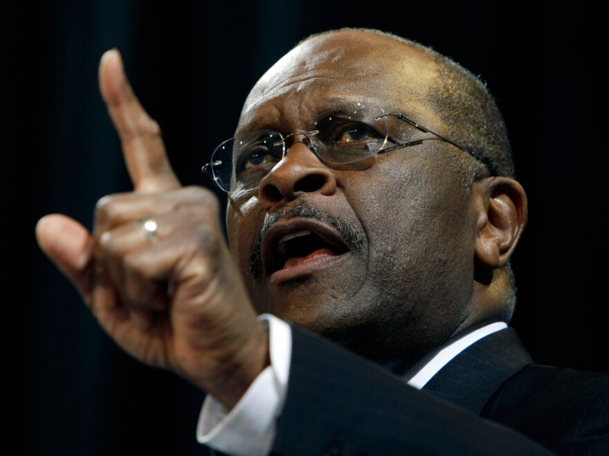 <p>Cain insists that no one should count him out.</p>