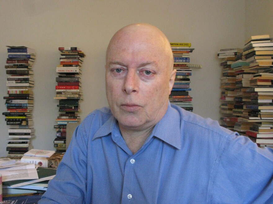 """Hitchens was diagnosed with metastasized esophageal cancer in June 2010. Last fall, he <a href=""""http://www.npr.org/templates/story/story.php?storyId=130917506"""">told NPR</a> that while doctors said he had a chance of remission, his chances of living longer than five years were slim."""