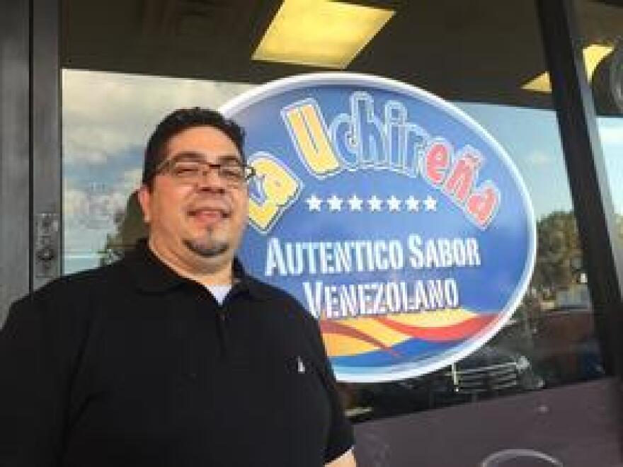Venezuelan expat and restaurateur Arcenio Fontalva