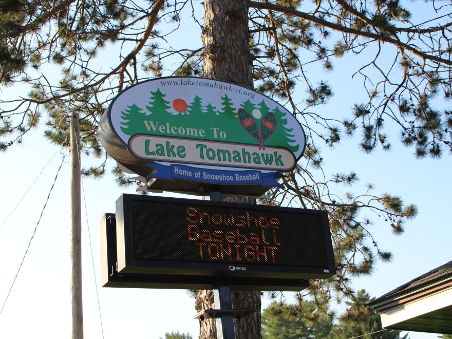 "When you drive into the town of just more than 1,000 residents, a sign reads: ""Welcome to Lake Tomahawk: Home of Snowshoe Baseball."" The game is a part of this town's history, with generations of families coming together each summer to watch the games."