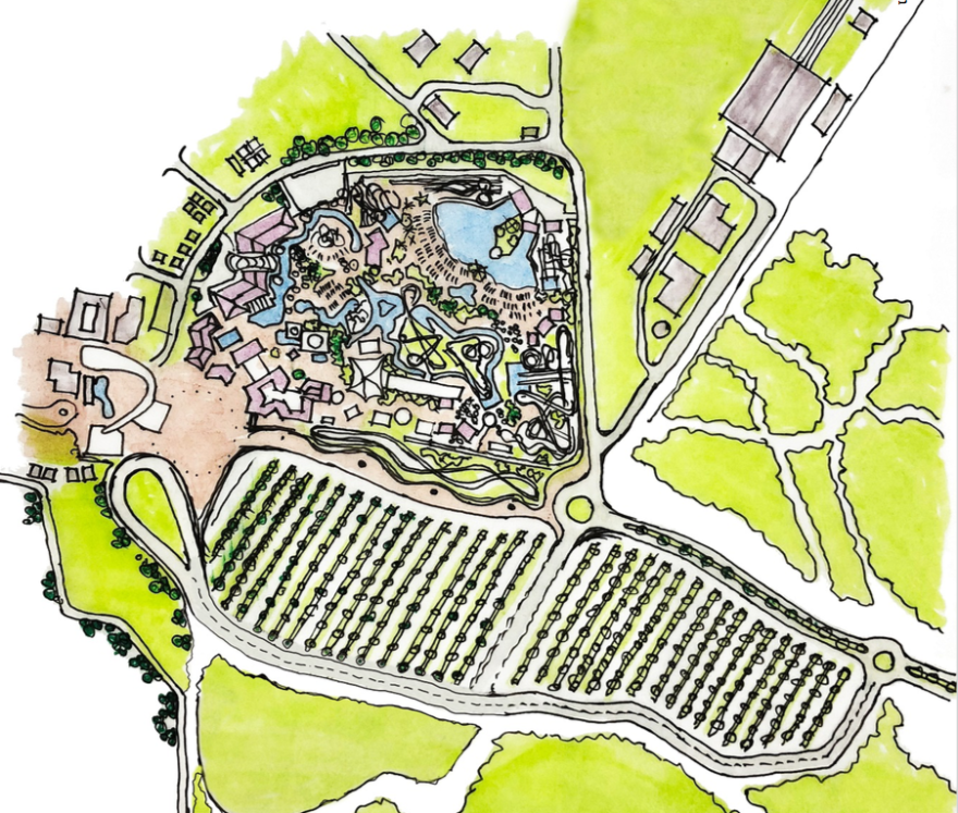 2020 Miami Wilds rendering
