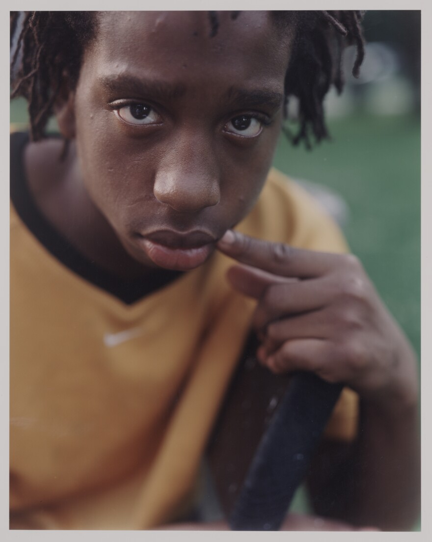 Dawoud Bey, 'Kenneth', 2001, chromogenic print, 23.5 x 19.5 inches, Courtesy of Private Collection