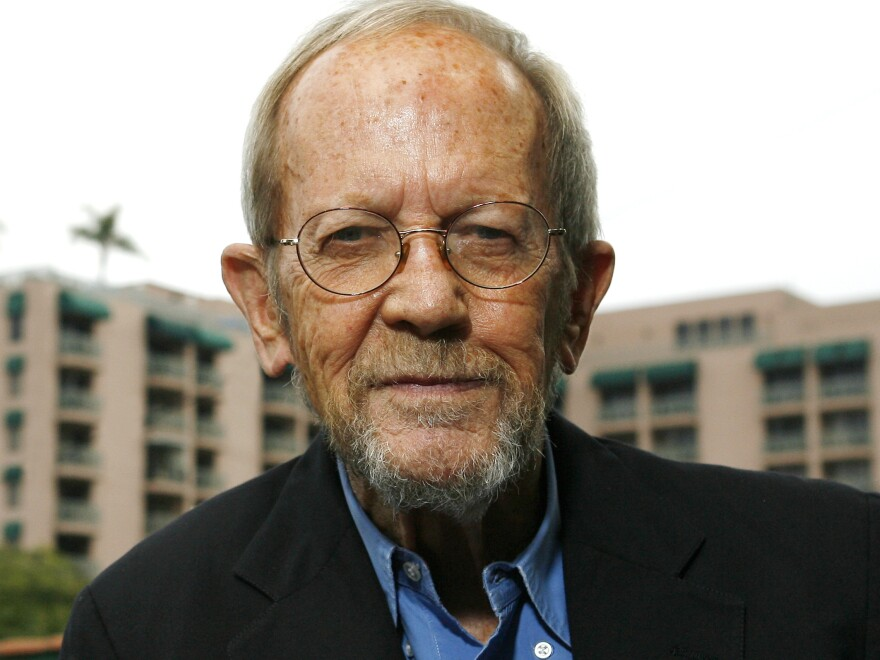 Many of Elmore Leonard's stories have been adapted for the screen, from the movie <em>Get Shorty</em> to the TV show, <em>Justified</em>.