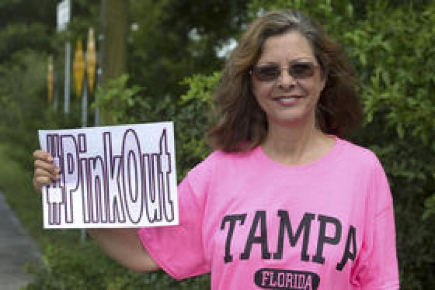 Planned Parenthood supporter Elise Mysels said her mother was on a fixed income and turned to their clinics when she found a lump in her breast.