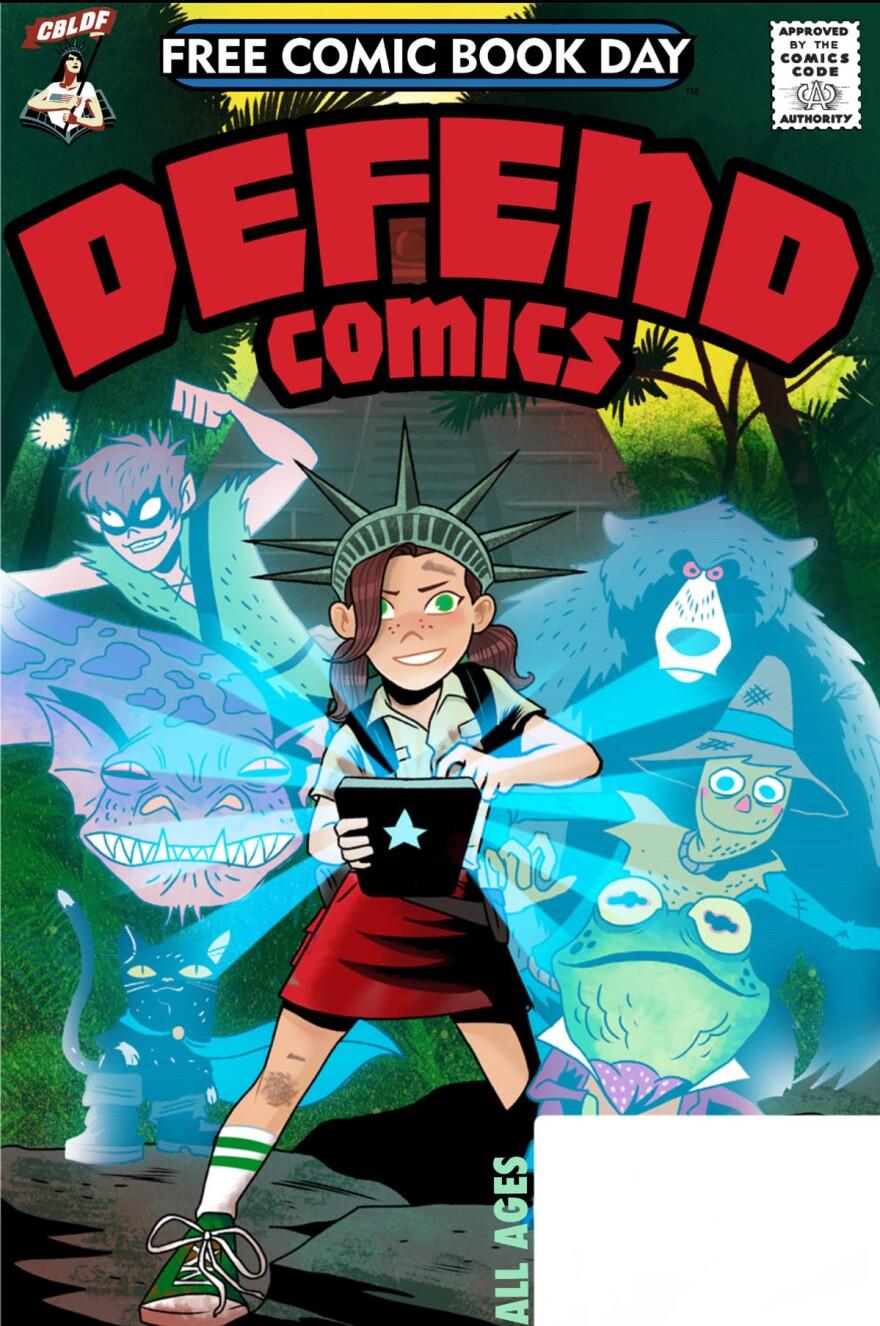 <em>Defend Comics</em>