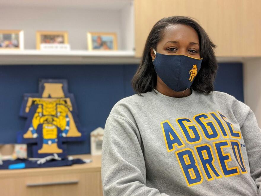 "North Carolina A&T State University student body president Brenda Caldwell says she wanted to attend an HBCU because of the ""familial culture"" and she thinks that culture is helping her university weather the pandemic."