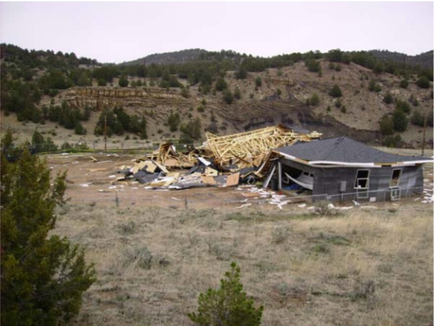 In 2007, Rick Kinder was building this house in Trinidad, Colo., when it blew up. An abandoned gas well leaking methane was underneath the house.