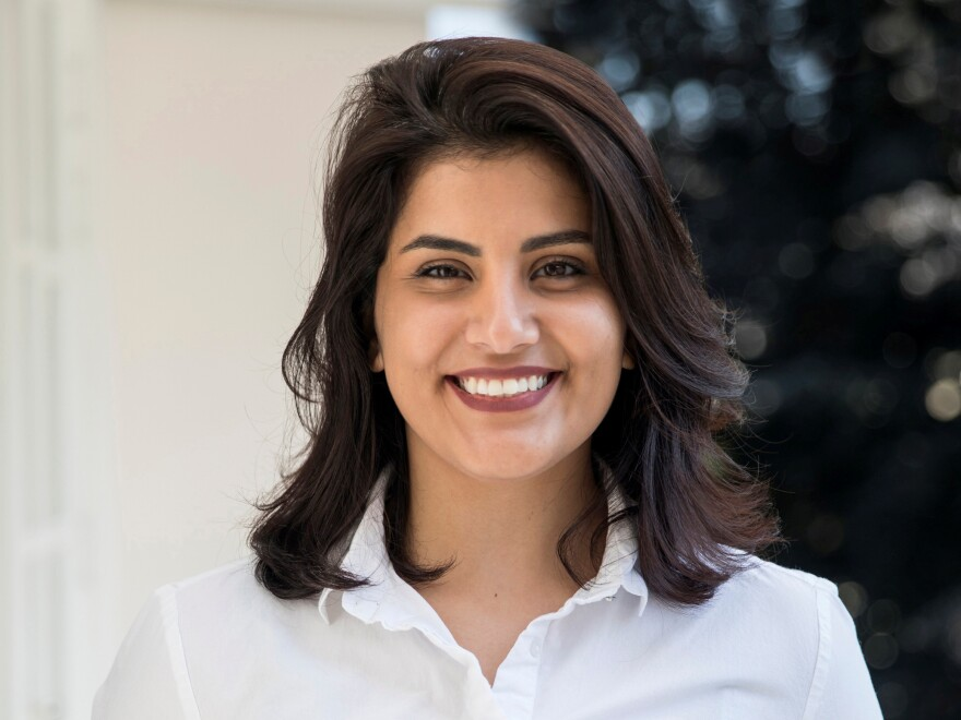 Saudi Arabian women's rights activist Loujain Alhathloul appeared in court with several other women for the first time since her arrest and detention in May 2018.