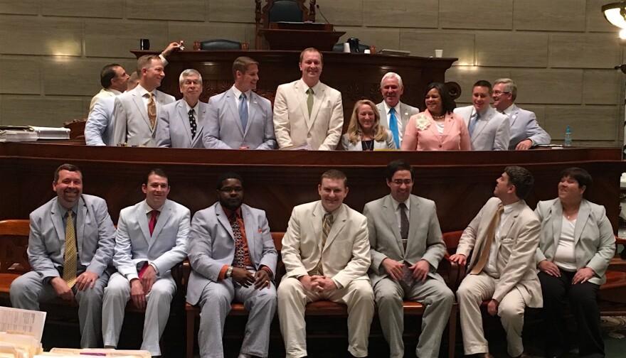 The seersucker caucus in the missouri legislature May 11, 2016