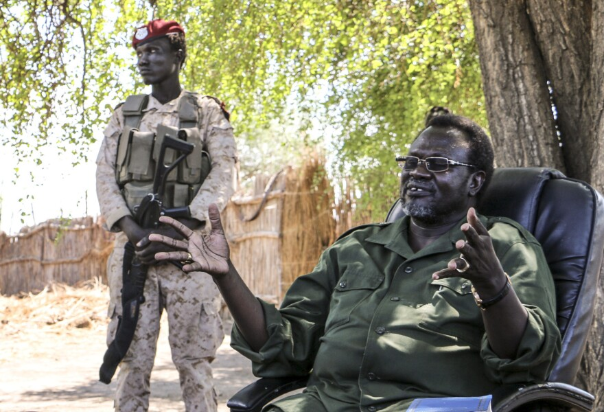 Former South Sudan Vice President Riek Machar is now a rebel leader.