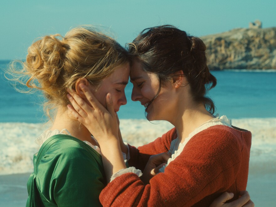Winner of best screenplay at the Cannes Film Festival, <em>Portrait of a Lady on Fire </em>stars Adèle Haenel and Noémie Merlant.