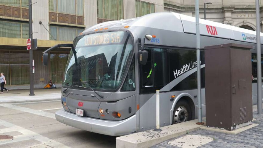 Greater Cleveland Regional Transit Authority bus