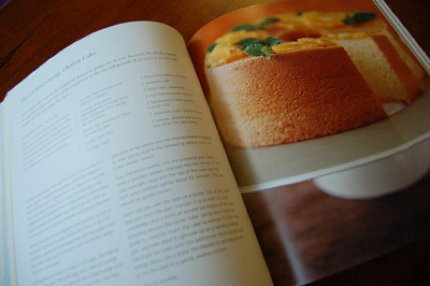 recipe in cookbook