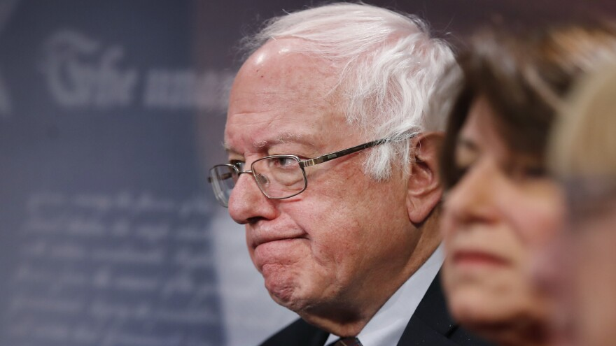 Sen. Bernie Sanders condemned a shooting at a congressional baseball practice allegedly carried out by one of his supporters.