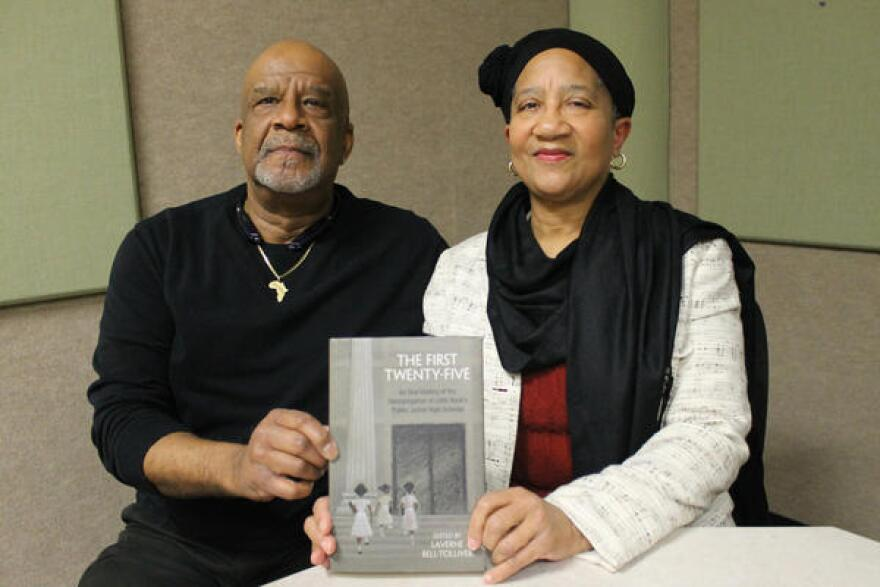 """Dr. Kenneth Jones and and Dr. Laverne Bell-Tolliver were two of the 25 students who desegregated Little Rock's junior high schools in phase two of the school district's desegregation plan. Bell-Tolliver edited the book """"The First Twenty-Five: An Oral History of the Desegregation of Little Rock's Public Junior High Schools."""""""