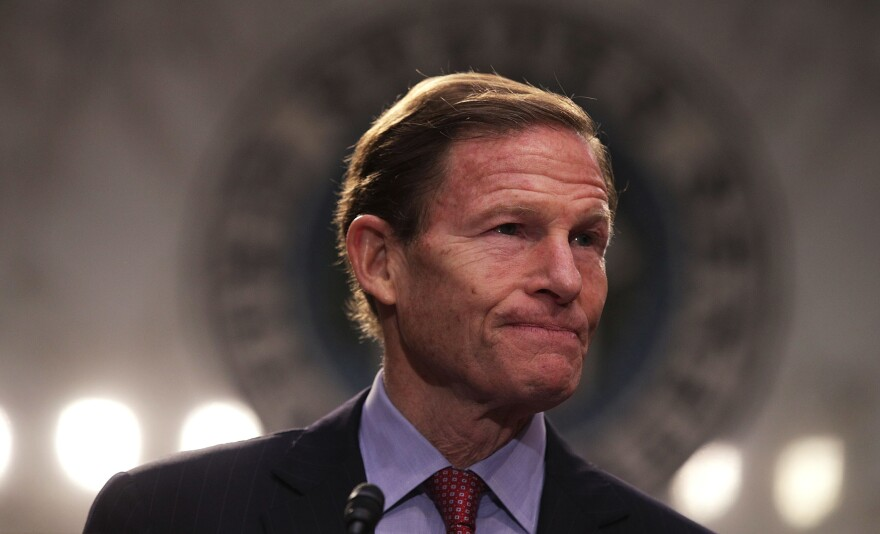 Sen. Richard Blumenthal, D-Conn., is among the more than 190 Democrats who are suing President Trump over his business deals involving foreign governments.