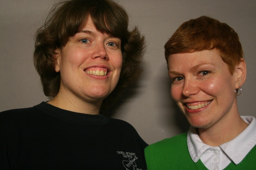 Erica Fowler and Melissa Fowler