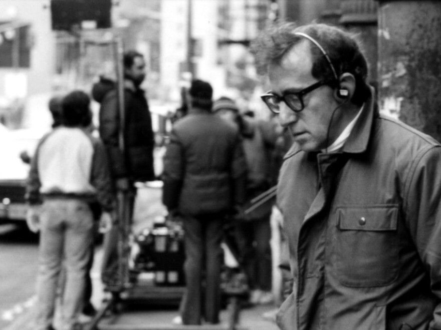 """""""Making a movie is a great distraction from the real agonies of the world,"""" filmmaker Woody Allen told <em>Fresh Air</em> in 2009."""