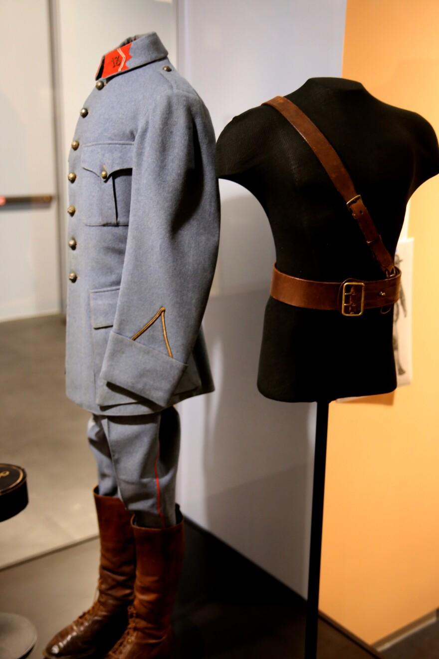 Henry Whitely Patterson's uniform