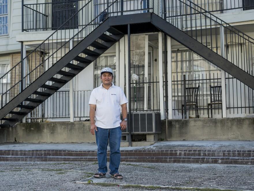Dan Dang, from Vietnam, at the Thai Xuan Village apartment complex.