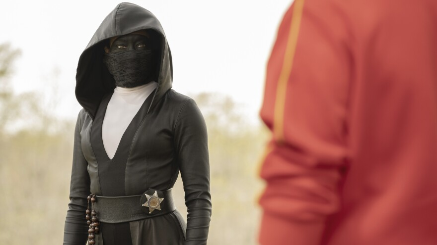 She's Having Nun Of It: Regina King as Sister Night in HBO's <em>Watchmen.</em>
