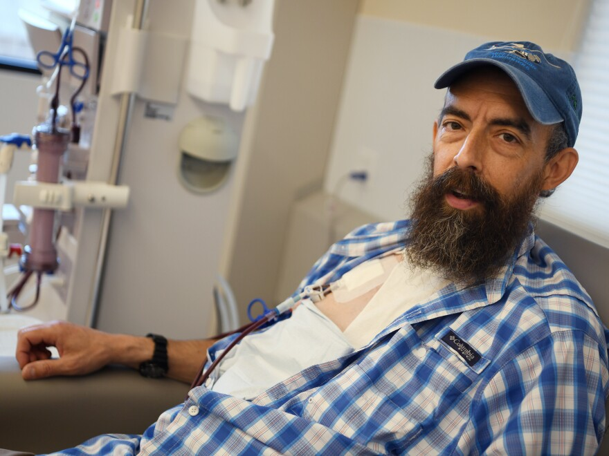 """To me, it's so outrageous that I just have to laugh,"" said Sov Valentine about the huge bill for dialysis treatments he received."