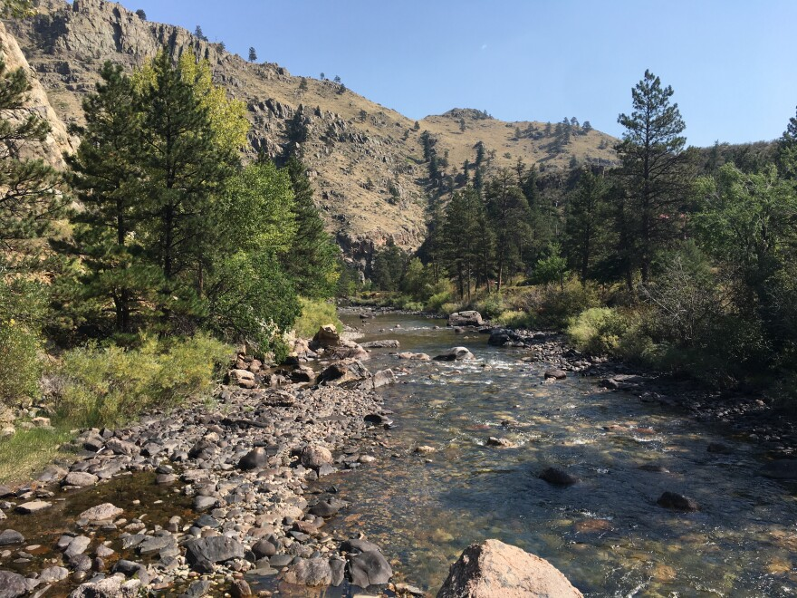The Poudre River acts as a main drinking water source for the city of Fort Collins, Colo.