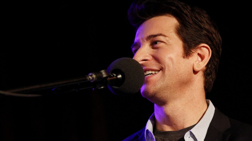 Andy Karl on NPR's Ask Me Another at the Bell House in Brooklyn, New York.